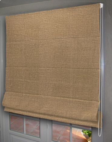 store bateau tamisant beige taupe clair