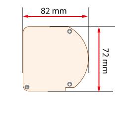 dimensions coffre pour store enrouleur