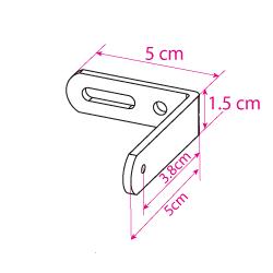 dimensions de l'équerre