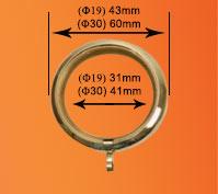 anneaux anneau fer forg&eacute